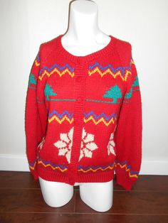 Vintage UGLY Beautiful Wool X-Mas Christmas by ATELIERVINTAGESHOP