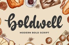, Boldwell (Font) by Blankids Studio · Creative Fabrica , Boldwell is a bold and smooth monoline script with incredibly friendly letters. Get inspired by its unique charm, and turn. Linux, Modern Script Font, Modern Fonts, Modern Calligraphy, Apple Mac, Font Gratis, Friendly Letter, Cricut Fonts