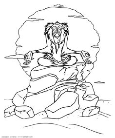The Lion King coloring pages. Disney coloring pages. Coloring pages for kids. Thousands of free printable coloring pages for kids! Moon Coloring Pages, Horse Coloring Pages, Halloween Coloring Pages, Cartoon Coloring Pages, Disney Coloring Pages, Coloring Sheets, Coloring Pages For Kids, Coloring Books, Rafiki Lion King