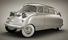 The 1936 Stout Scarab came about in the early when William B. Stout, head of the Stout Engineering Laboratories in Dearborn, Michigan, dreamed of rear-engine/rear-wheel drive. Mini Vans, American Graffiti, Weird Cars, Cool Cars, Strange Cars, Harrison Ford, Art Deco Car, Monospace, Transporter