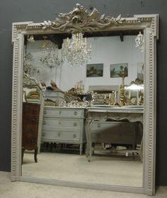 Large antique mirror from www.jasperjacks.com
