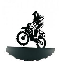 Sujetalibros Motocross