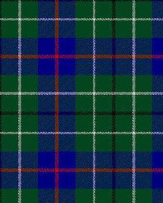 Duncan Tartan, modern colors