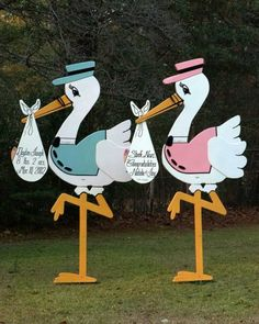 Celebrate The Baby On Its Way With A Stork Themed Shower Event