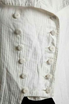 French Tailcoat detail