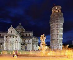 Leaning Tower of Pisa   by david.bank (www.david-bank.com)