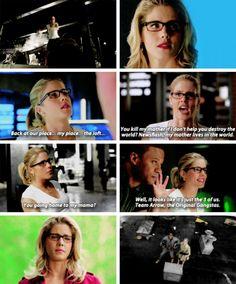 """Felicity Smoak in #Arrow #Season4Finale #4x23 -- """"You thought I was leaving…"""
