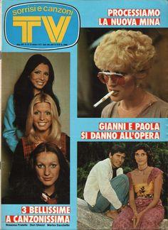 Dori Ghezzi copertina sorrisi e canzoni 1973