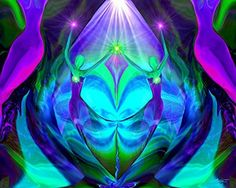 """Teal Wall Decor, Meditation Room Decor, Chakra Angel Art, """"Unity"""". """"Unity"""" is a purple and teal twin flames chakra art print in my energy healing line of reiki angel wall decor. This reiki angel art print would be a beautiful addition to a meditation, yoga, energy healing room, or any room in the house or office of the person looking for a colorful and unique piece of uplifting wall decor infused with positive energy. The Message: """"Unity"""" is for those of us who drag around our old and..."""