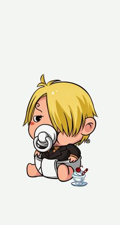 Baby Sanji  HD Wallpapers 744 x 1392 Parallax Wallpapers available for free download.