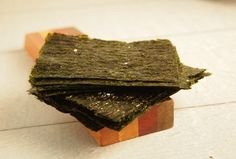 Make Your Own Seaweed Snacks