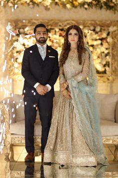 Pakistani Bridal Dresses Online, Pakistani Wedding Outfits, Pakistani Bridal Wear, Bridal Outfits, Indian Bridal, Desi Wedding, Wedding Wear, Bridal Makeover, Mehndi Dress