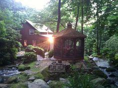 Private Residence/Rental.  Cullowhee, North Carolina.