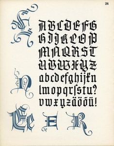Gothic Lettering, Chicano Lettering, Tattoo Lettering Fonts, Lettering Styles, Lettering Design, Calligraphy Letters Alphabet, Typography Alphabet, How To Write Calligraphy, Graffiti Alphabet