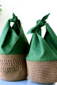 그린 파파야 향기 : 네이버 블로그 Sacs Design, Crochet Classes, Crochet Shoulder Bags, Knit Basket, Techniques Couture, Macrame Design, Simple Bags, Girls Bags, Knitted Bags