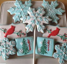 117 Best Winter Sugar Cookies Images In 2019 Xmas Cookies