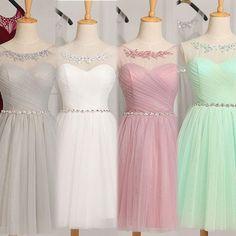 2016 Neu Kurz Abendkleider Cocktailkleid Ballkleider Party Gr:32/34/36/38/40/44 in Kleidung & Accessoires, Damenmode, Kleider   eBay!