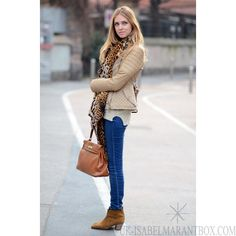 Chiara of The Blonde Salad The Blonde Salad, How To Wear Ankle Boots, Suede Ankle Boots, Heeled Boots, Fall Winter Outfits, Autumn Winter Fashion, Cream Leather Jacket, Fashion Outfits, Womens Fashion