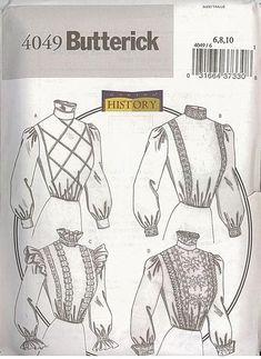 Schnittmuster Truly Victorian TVE 55 Edwardian Dip-Waist Belts