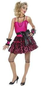 80s Party Girl Costume for Women
