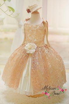 Bailarina muñeca Vintage niñas vestido por MelissaJaneBoutique