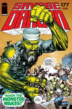 and savage dragon is a million lightyears from home savage dragon 177 Image Comics, A Comics, Comic Book Covers, Comic Book Heroes, Savage Dragon, Dragon Series, Least Favorite, Comic Artist, Vines