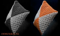 Gratis patroon voor een kussenhoes. Gehaakt met de lijnen steek voor een mooi lijnenspel. Voor het haken van deze kussenhoes is het wel belangrijk dat je weet hoe je een magische lus moet maken. Het…
