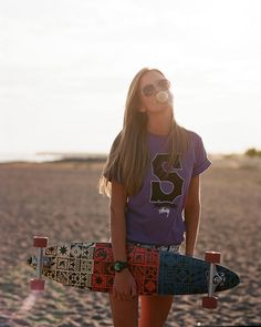 ...fun on the beach, longboard mood.