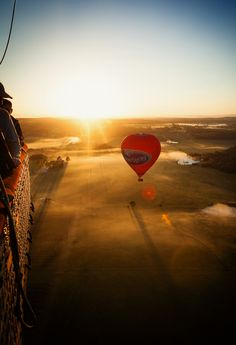 Up, up and away in Hunter Valley, Australia