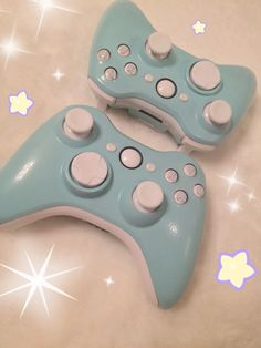 Pastel blue xbox controller on Etsy, $55.00.  Love this