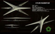 Cylon Basestar (new) ortho by unusualsuspex.deviantart.com on @deviantART