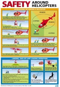 Safety around helicopters (CAA NZ)