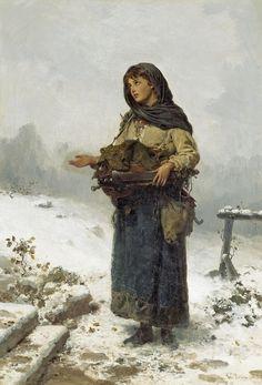 German School ~The Beggar Maid~ 19th Century, High Reolution