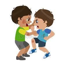 Resultado de imagem para imagens de crianças brigando