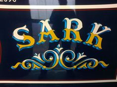 Scribe Traditional Signwriting and Decoration