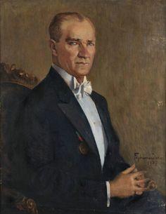 f- duran -atatürk portre