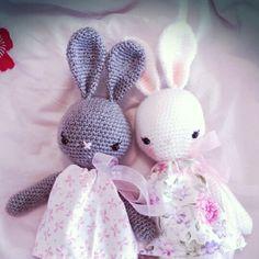 Spring bunny girls