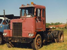 Late 1950's or early 1960's KW half cab. Somewhat different from the earlier models of this cab.