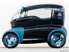 Future Car, Futuristic Vehicle, Mazda London Taxi Concept (1993). ★Pinned by http://FlanaganMotors.com.