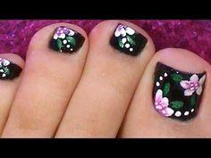 Diseño y decoración de uñas-unhas-n ails para tus pies 2016