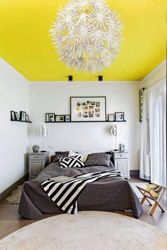 Zdjęcie numer 9 w galerii - Szary z żółtym we wnętrzach - modne i nowoczesne połączenie