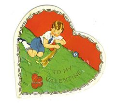 1930s Valentine greeting, from Flickr