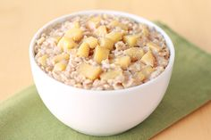 Apple Growing Oatmeal Recipe | Hungry Girl - This is so very filling and really good!