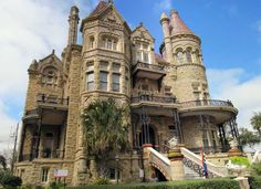 Bishop's Palace in Galveston, built in 1888, built to survive hurricanes