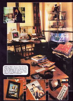 Mulder's apartment from the Cinescape 1999 X-Files yearbook Dana Scully, David Duchovny, Playpen, Coffee Table Books, Best Shows Ever, Tv, Nerd, Sweet, Life