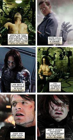 Bucky Barnes : The Winter Soldier :(