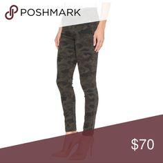 3e1747d5b668c Hudson Mid Rise Skinny Jeans in Camo print Camo print skinny jeans. Only  worn 2
