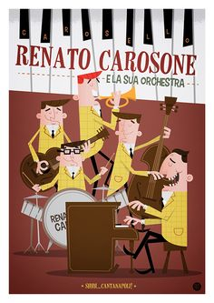 Renato Carosone on Behance