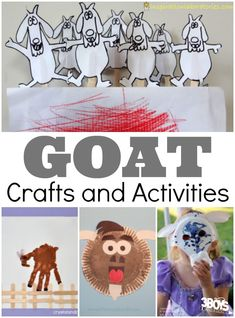 Goat Crafts and Activities for Kids https://3boysandadog.com/goat-crafts-and-activities-for-kids/?utm_campaign=coschedule&utm_source=pinterest&utm_medium=3%20Boys%20and%20a%20Dog&utm_content=Goat%20Crafts%20and%20Activities%20for%20Kids