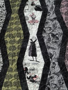 alidiza: Something wicked (awesome) this way comes! Halloween Quilt Patterns, Halloween Quilts, Fall Halloween, Halloween Runner, Fall Patterns, Rag Quilt, Quilt Blocks, Tumbler Quilt, Fall Quilts